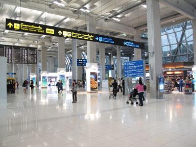 Bangkok International Suvarnabhumi Airport