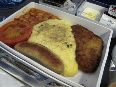 In-Flight Brunch