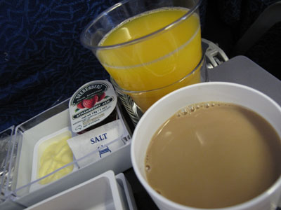 In-Flight Brunch