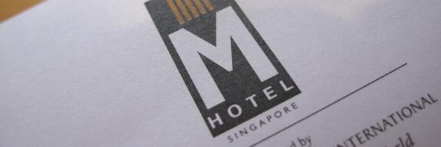 [Singapore] M Hotel – Bridal Suite