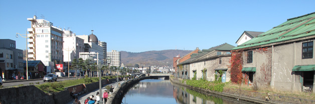 [Otaru, Hokkaido] Otaru Canal, Music Box Museum and Glassware Shop