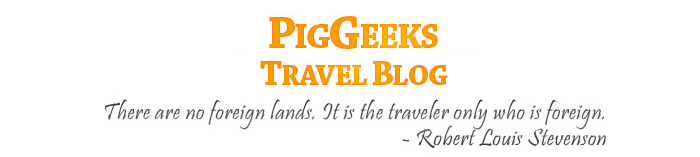 PigGeeks Travel Blog